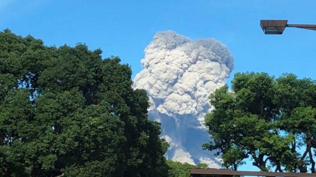 桜島 噴火 7月29日