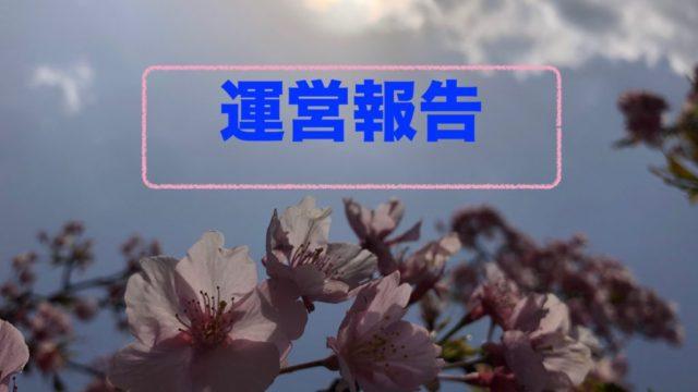 運営報告 桜 アイキャッチ