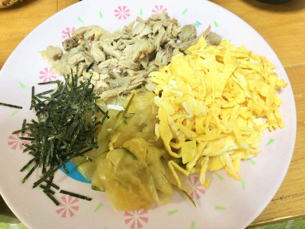 奄美の鶏飯 家庭の味