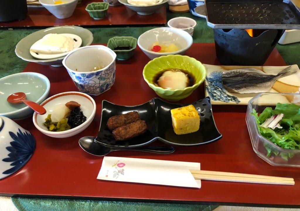 旅行人山荘 朝食